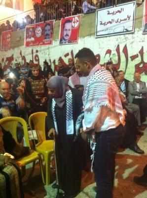 القدس والجبهة الشعبية تحتفلان بالأسير المحرر علاء العلي