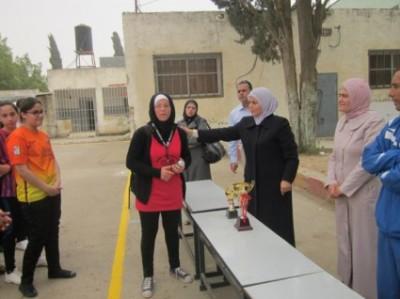 ابو علي إياد بطلات قلقيلية لكرة القدم