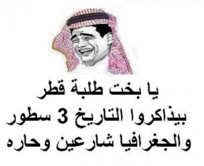 """شاهد بالصور .. """"انقلاب"""" مصري على قطر عبر الفيسبوك بعد تصريحات صحفي قطري للمصريين """"ماذا صنعتم غير أقراص الطعمية؟"""""""