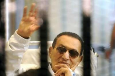 اخلاء سبيل حسني مبارك في قضية قتل المتظاهرين