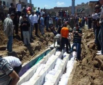 بالفيديو.. مجزرة مروعة.. قوات الأسد تعدم 480 معتقلا في سجن صيدنايا بدمشق