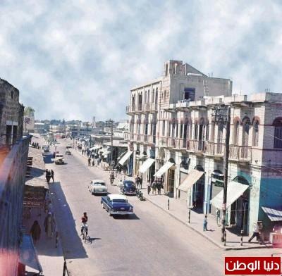 """""""عمر المختار"""" بمدينة غزة .. كيف كان وكيف هو الآن ؟ .. شاهد الصور"""