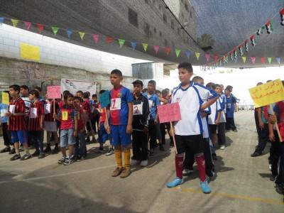 تربية جنين تنظم مسابقة الألعاب الرياضية الصغيرة لطلبة الصفوف الدنيا