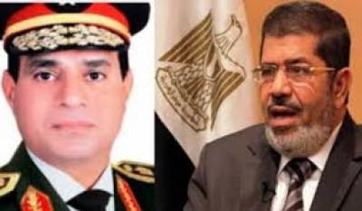 تفاصيل الحوار الاخطر مطلقاً بين مرسي والسيسي بعد خطف الجنود