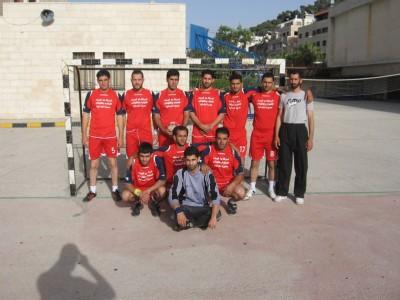 ضمن البطولة التنشيطية لفرق كرة اليد فوز عصيرة الشمالية على عوريف الرياضي
