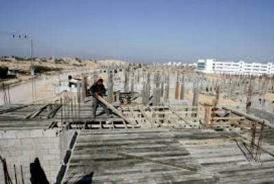 909 مليون دولار أنفقت على إنشاء المباني في غزة والضفة خلال عام واحد دنيا الوطن