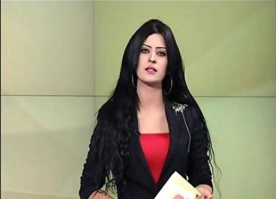 مذيعة نشرة جوية مصرية تتدلع على فضائية عراقية تثير الشباب فيتابعونها بشغف