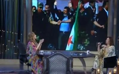 """فيديو.. إلهام شاهين تهدى أغنية لـ""""مرسي"""" : """"اتفضل من غير مطرود وإياك تتجنن وتعود"""""""