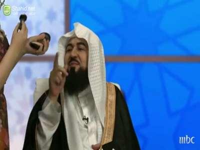بالفيديو...ام بي سي تسخر من الشيخ العريفي في واي فاي بعنوان (الشيخ المزيون)