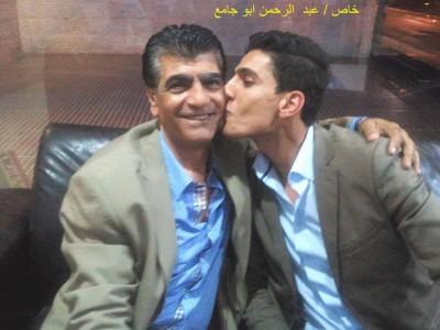 بالصور .. جمال النجار مع محمد عساف في رام الله