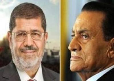 """شاهد بالفيديو .. ماذا قال مبارك عن """"السيسي"""" و """" مرسي"""" ؟"""