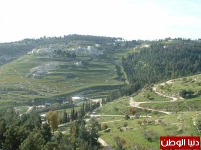 دنيا الوطن تنقل لكم بالصور جبال مدينة القدس