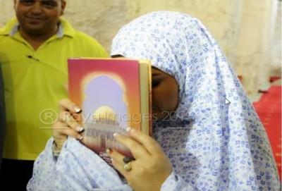 صورة..فضيحة أصالة في المسجد الأقصى !