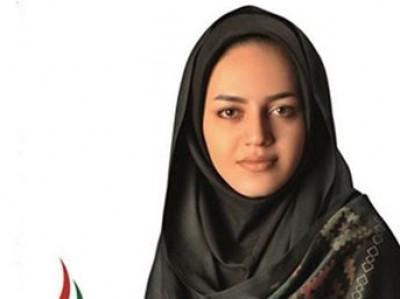 في ايران : فصلت من المجلس البلدي لانها جميلة جدا ..صورة