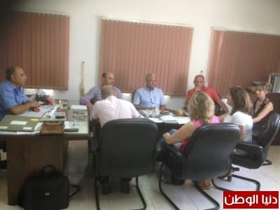 مركز سنابل الغد للتوحد في سخنين يبحث مسألة التوحد بحضور النائب مسعود غنايم