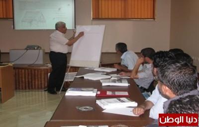 وحدة هندسة الزلازل في جامعة النجاح الوطنية ونقابة المهندسين تنظمان دورة في التصميم الزلزالي للمباني