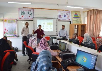 مديرية التربية والتعليم شرق خان يونس تنظم دورة تدريبية حول برنامج الجدول المدرسي (ASC)