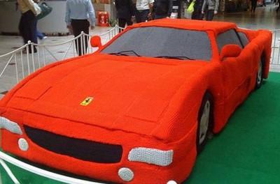 سيارة فراري الكروشيه2014- فتاة تصنع 9998406043.jpg