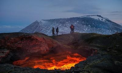 صور مدهشة لثورة بركان بلوسكي تولباتشيك