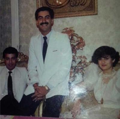 صورة.. غادة عبد الرازق في عمر ال 16 مع زوجها