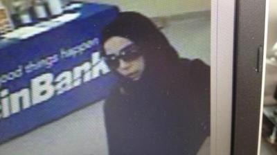 صور: شابة سعودية متهمة بسرقة 5 بنوك أميركية في 3 أسابيع