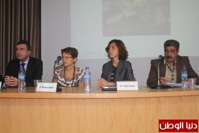 جامعة النجاح الوطنية تعقد ورشة عمل متخصصة حول تخفيف مخاطر الكوارث في فلسطين