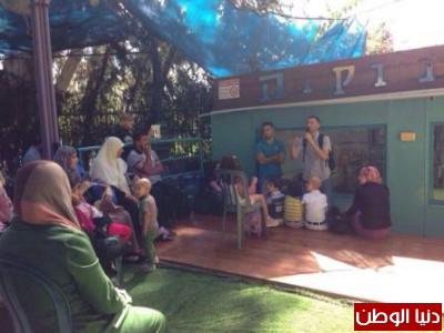 رغم الألم يوجد أمل يوم ترفيهي لمرضى السرطان الفلسطينيين