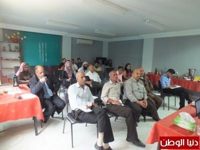 تنظيم ندوة حول واقع قضية المياه في مركز العوجا البيئي