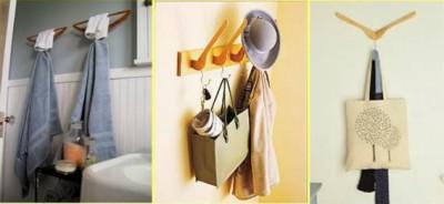 سبع طرق لاستخدام شماعات الملابس في اغرض اخرى