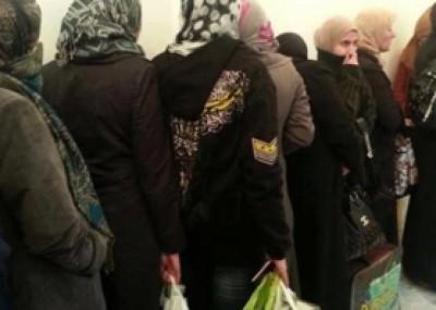 الحكومة السورية تفرج عن معتقلات في عملية تبادل معتقلين مع المعارضة 9998413394.jpg