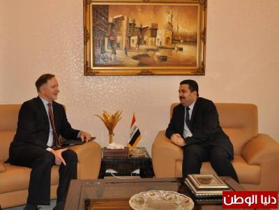 وزير حقوق الإنسان يستقبل السفير الأمريكي لدى العراق