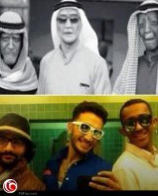 """شاهد: صورة الوجه الحقيقي لفرقة """"شياب"""""""
