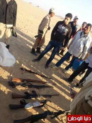 بالصور .. مديرية امن اسيوط  تضبط منوعات و مواد و أسلحة مهربة