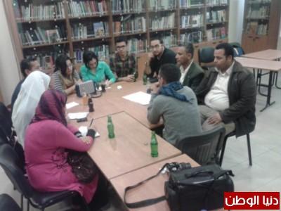 بالصور ..شباب دواير يشاركون في برامج لقبول الآخر بمركز أحمد بهاء الدين