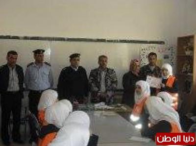 نادي أصدقاء الدفاع المدني في مدرسة