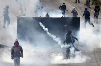 مواجهات مع قوات الاحتلال عل مدخل بيت لحم الشمالي