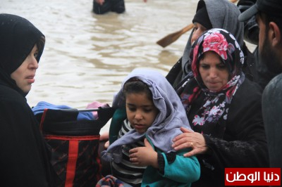 لليوم الثالث على التوالي مواصلة إجلاء السكان في منطقة النفق وسط مدينة غزة