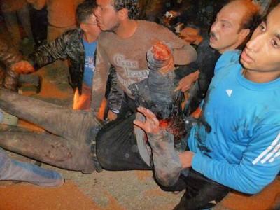 قتيل و200 مصاب تفجير مبنى 9998428380.jpg