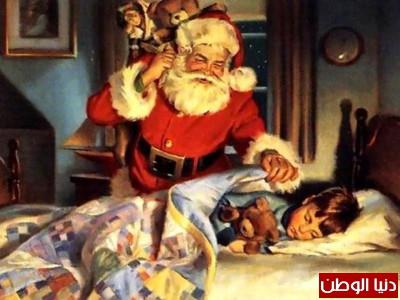 بالصور .. بابا نويل او سانتا كلوز والقصة الحقيقية وراء ظهوره | دنيا الوطن