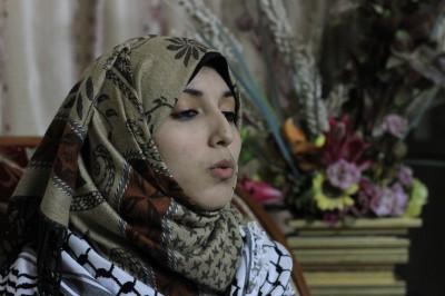 """""""ميس شلش"""" مثلها الأعلى : """"مريم معروف"""" .. صوت فلسطيني جديد يشدو بالأغاني الوطنية .. شاهد الفيديو"""