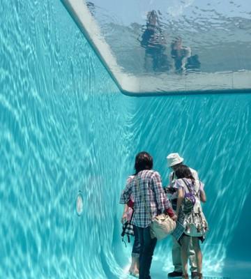 خدعة حمام السباحة