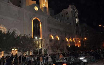 العثور قنبلة كنيسة ببني سويف العثور قنبلة كنيسة ببني سويف