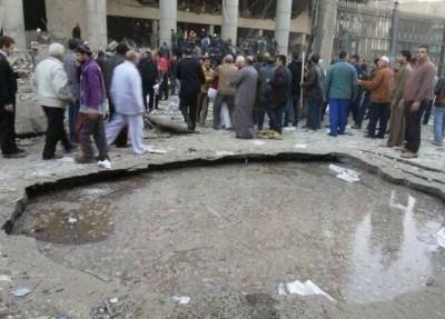 العثور على جثة الانتحارى مفجر مديرية أمن القاهرة