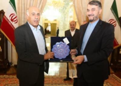 الرجوب من طهران: المقاومة الخيار الاستراتيجي للفلسطينيين