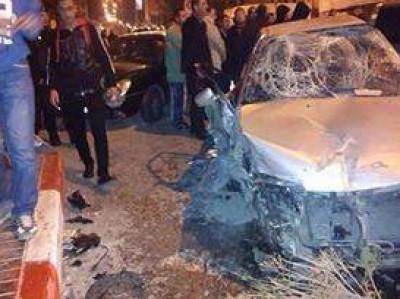 صور: مصرع مواطن في حادث سير بمدينة الخليل مساء اليوم