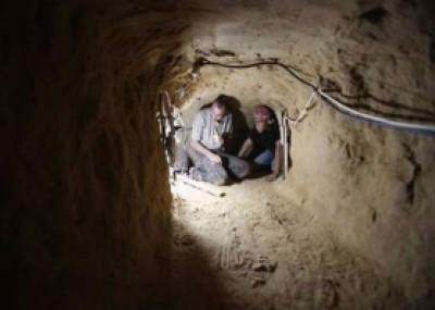 الجيش المصري يدمر 7 انفاق برفح