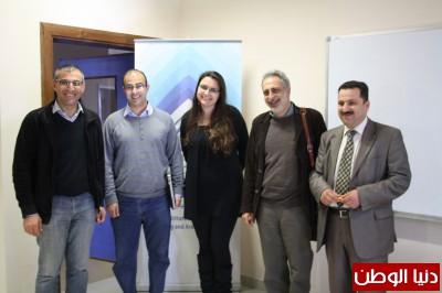 نقاش رسالة ماجستير في جامعة بيرزيت حول المفاهيم الاكثر تجريدا من الأنطولوجيا العربية