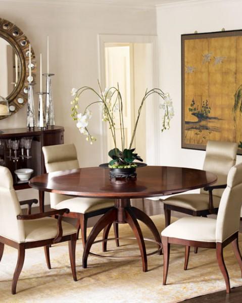 طاولات خشبية فخمة