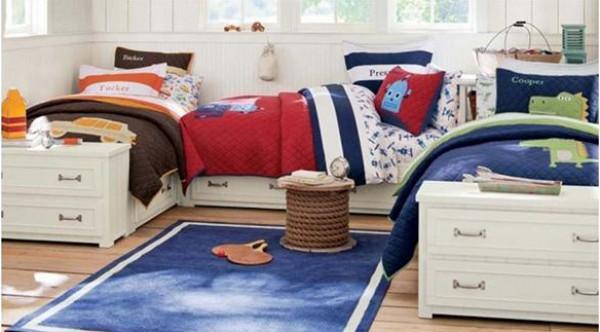 كيف تجعلين غرفة النوم مُناسبة لأطفالك الثلاثة؟