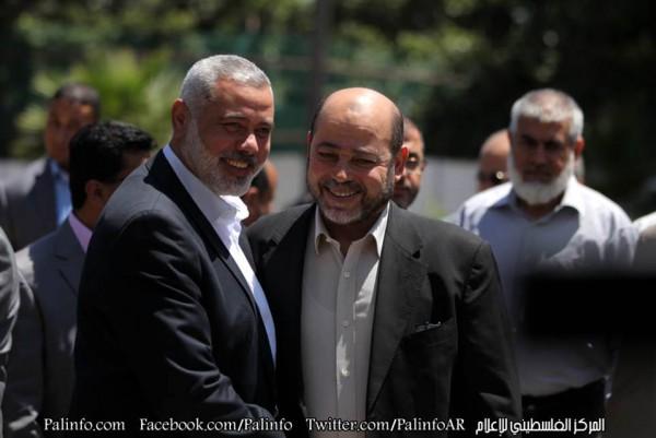 موسى ابو مرزوق في غزة